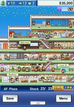 Mega Mall Story (IP)  © Kairosoft 2011   2/3