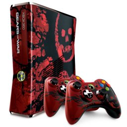 Xbox 360 S [320 GB Gears Of War 3 Limited Edition] (X360)   © Microsoft 2011    1/1