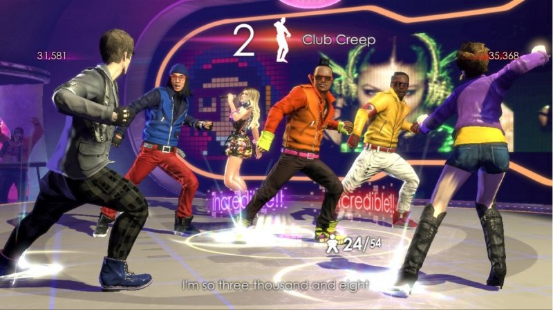 The Black Eyed Peas Experience (X360)   © Ubisoft 2011    4/5