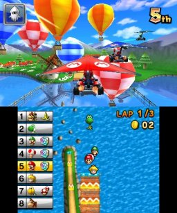 Mario Kart 7 (3DS)  © Nintendo 2011   1/3