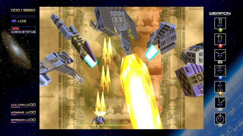 Radiant Silvergun (X360)  © Treasure 2011   5/6