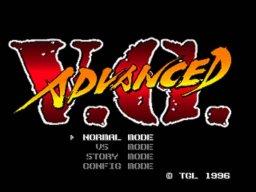 Advanced V.G. (PS1)  © TGL 1996   1/6