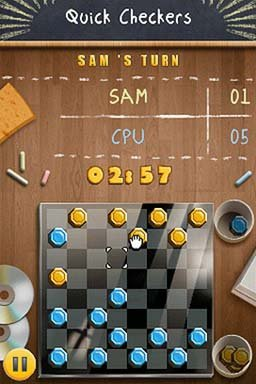 Academy: Checkers (NDS)  © Gamelion 2011   1/3