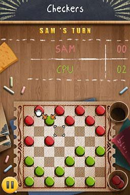 Academy: Checkers (NDS)  © Gamelion 2011   2/3