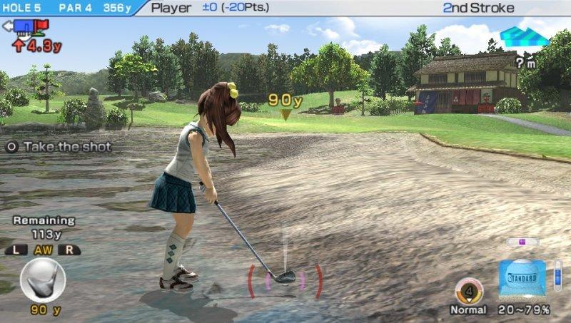 Everybody's Golf 6 (PSV)  © Sony 2011   7/7