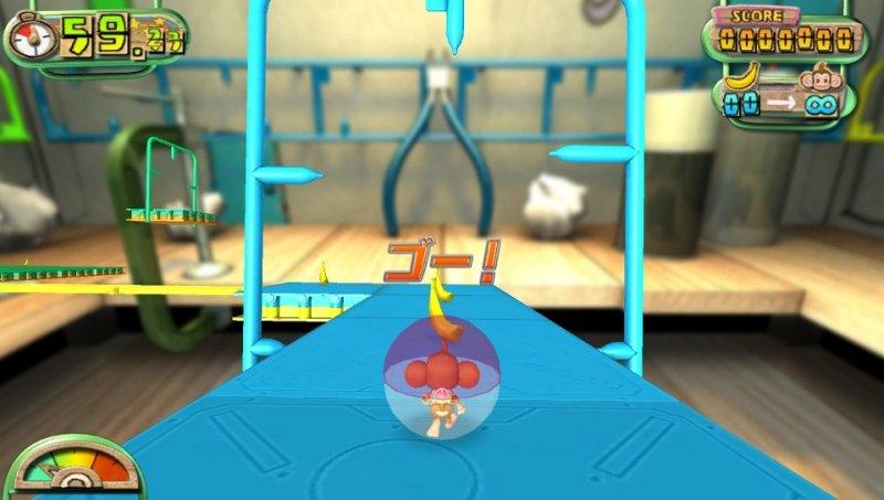 Super Monkey Ball: Banana Splitz (PSV)  © Sega 2012   6/7