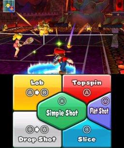 Mario Tennis Open (3DS)  © Nintendo 2012   2/3