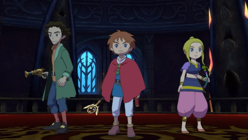 Ni No Kuni: Wrath Of The White Witch (PS3)  © Level-5 2011   5/8