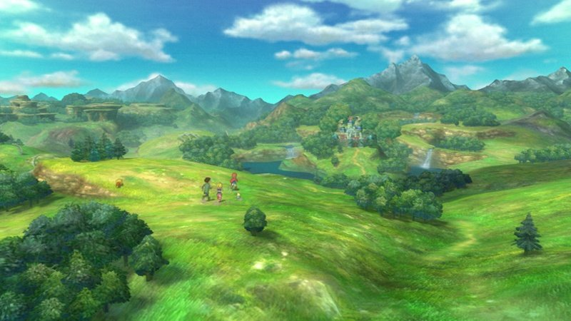 Ni No Kuni: Wrath Of The White Witch (PS3)  © Level-5 2011   7/8