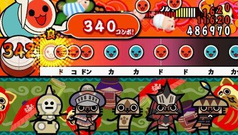 Taiko No Tatsujin Portable DX (PSP)  © Namco 2011   8/8