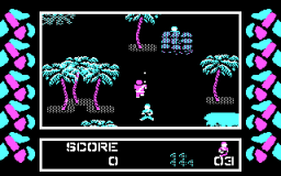 Commando (PC)  © Data East 1986   2/3