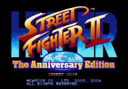 Hyper Street Fighter II: The Anniversary Edition (ARC)   © Capcom 2003    1/3