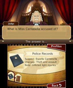 Professor Layton Vs. Phoenix Wright: Ace Attorney (3DS)  © Level-5 2012   1/4
