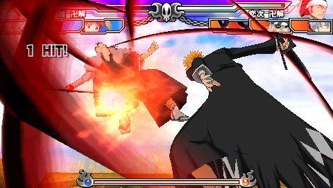 Bleach: Heat The Soul 3 (PSP)  © Sony 2006   9/11