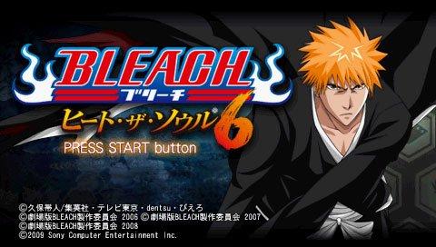 Bleach: Heat The Soul 6 (PSP)  © Sony 2009   4/8