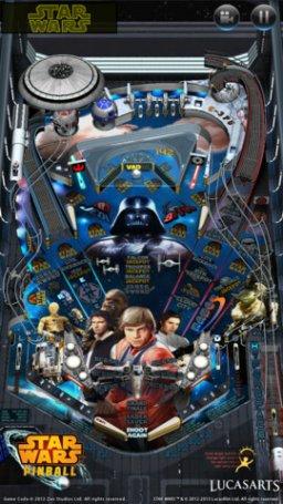 Star Wars Pinball (IP)  © LucasArts 2013   1/3