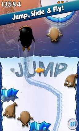 Air Penguin (AND)  © Gamevil 2011   2/3