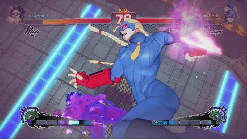 Ultra Street Fighter IV (X360)  © Capcom 2014   4/5