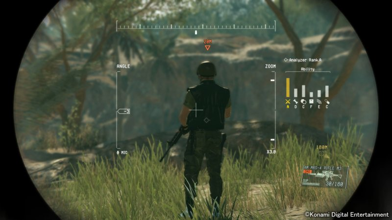 Metal Gear Solid V: The Phantom Pain (PS3)   © Konami 2015    6/9