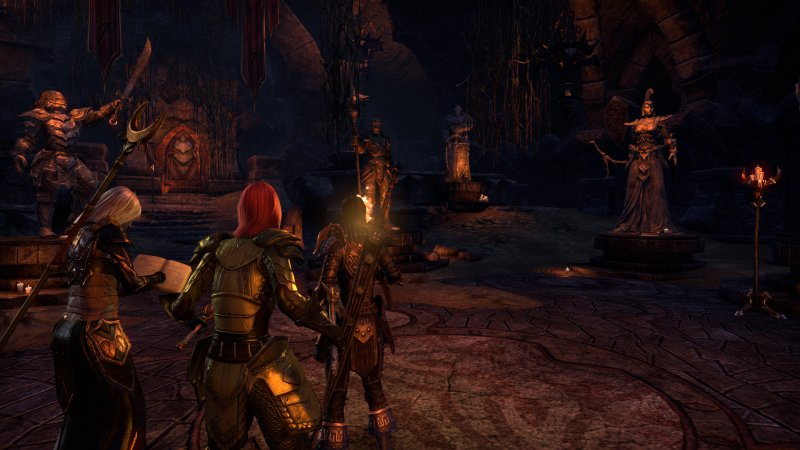 The Elder Scrolls Online: Tamriel Unlimited (PS4)  © Bethesda 2015   4/4