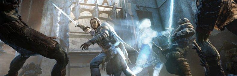 <h2 class='titel'>Middle-earth: Shadow Of Mordor</h2><div><span class='citat'>&bdquo;Hov, misforstod dig. Troede du mente det var efter warchief dukkede op at du skulle danse med ham, kaptajnerne og 35 uruks.  Jamen så er det jo faktisk nemmere. Ignorer kaptajnerne. Kommer de i nærheden af dig, så hop h...&ldquo;</span><span class='forfatter'>- Jmog</span></div>