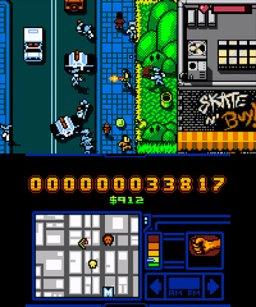 Retro City Rampage: DX (3DS)  © VBlank 2014   1/3