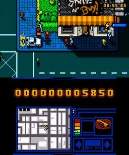Retro City Rampage: DX (3DS)  © VBlank 2014   2/3