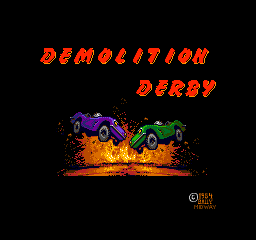 Demolition Derby (1984) (ARC)   © Midway 1984    1/3