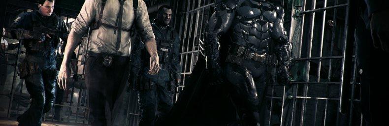<h2 class='titel'>Batman: Arkham Knight</h2><h2 class='score'>6/10</h2><div><span class='citat'>&bdquo;Overgjort og forblændende så det flimrer for øjnene, og spiller for meget med spændte sikkerhedsseler. Dog fanmateriale for alle pengene.&ldquo;</span><span class='forfatter'>- millennium</span></div>
