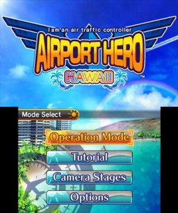 I Am An Air Traffic Controller Airport Hero: Hawaii [eShop] (3DS)  © Sonic Powered 2014   1/3
