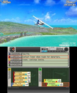 I Am An Air Traffic Controller Airport Hero: Hawaii [eShop] (3DS)  © Sonic Powered 2014   2/3