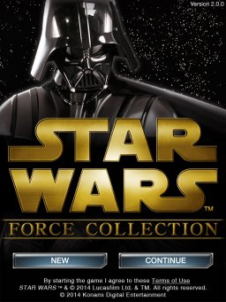 Star Wars: Force Collection (IPD)   © Konami 2013    1/3