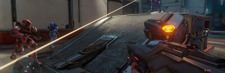 <h2 class='titel'>Halo 5: Guardians</h2><div><span class='citat'>&bdquo;Halo 5 bliver gratis at spille for guldmedlemmer d.29/6-5/7:  http://news.xbox.com/2016/06/23/warzone-fire...#sHTUiLQmSUyXtW08.99  Det nedsættes også 50% i perioden. Bemærk at det vist fylder 81GB allerede og næste uges...&ldquo;</span><span class='forfatter'>- Bede-x</span></div>