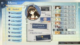 Atelier Shallie: Alchemists Of The Dusk Sea (PS3)   © Gust 2014    3/6
