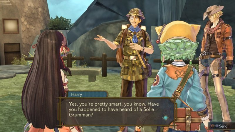 Atelier Shallie: Alchemists Of The Dusk Sea (PS3)   © Gust 2014    5/6