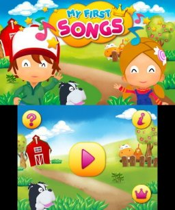 My First Songs (3DS)  © Ringzero 2014   1/3