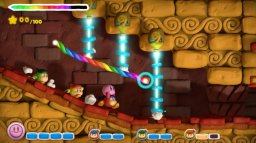 Kirby And The Rainbow Curse (WU)   © Nintendo 2015    3/9