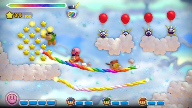 Kirby And The Rainbow Curse (WU)  © Nintendo 2015   5/9