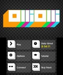 OlliOlli (3DS)  © Curve Studios 2015   1/3