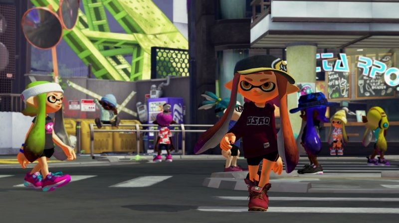 Splatoon (WU)  © Nintendo 2015   5/6