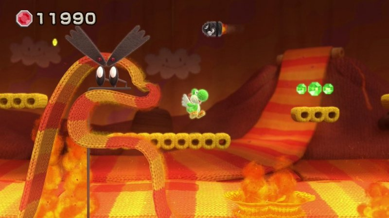 Yoshi's Woolly World (WU)  © Nintendo 2015   4/4
