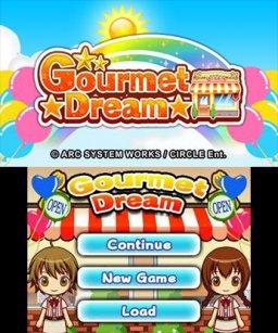 Gourmet Dream (3DS)  © Circle Entertainment 2015   1/3