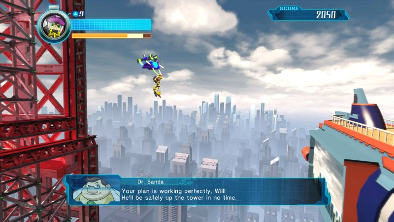 Mighty No. 9 (PS4)   © Deep Silver 2016    4/8