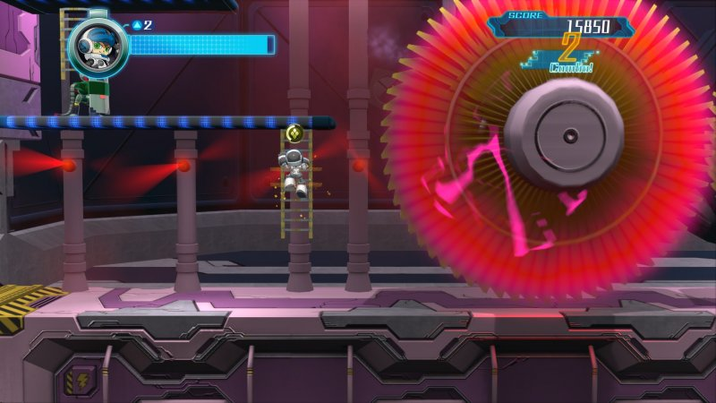 Mighty No. 9 (PS4)   © Deep Silver 2016    8/8