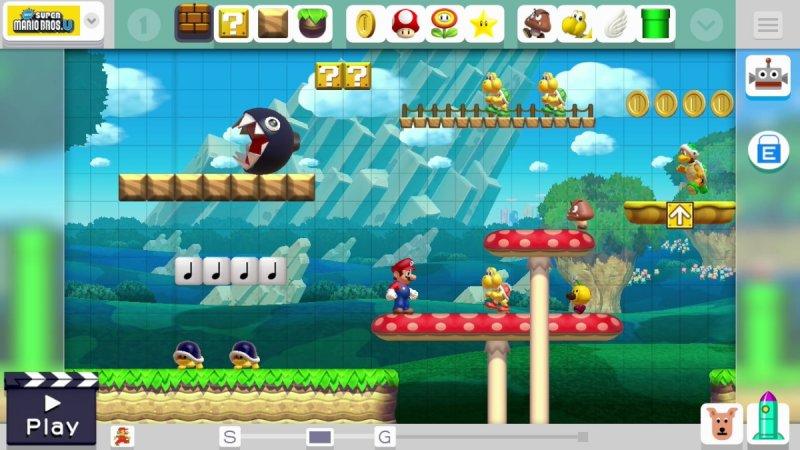 Super Mario Maker (WU)  © Nintendo 2015   5/6