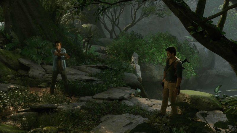 Uncharted 4: A Thief's End (PS4)   © Sony 2016    5/8