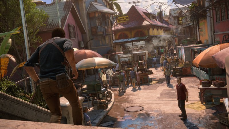 Uncharted 4: A Thief's End (PS4)   © Sony 2016    8/8