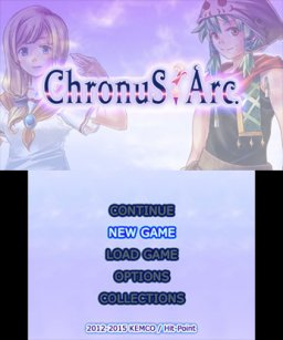 Chronus Arc (3DS)   © Kemco 2015    1/3