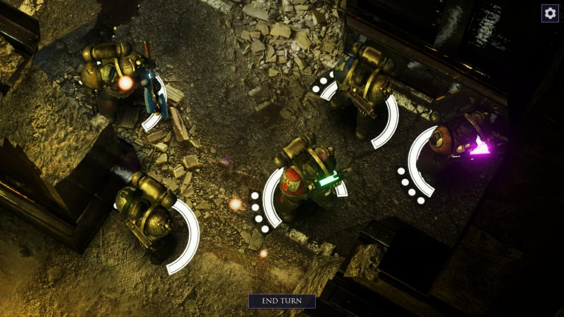 Warhammer 40,000: Deathwatch: Enhanced Edition (PC)   © Rodeo 2015    4/4