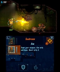 SteamWorld Heist (3DS)   © Image & Form 2015    3/3